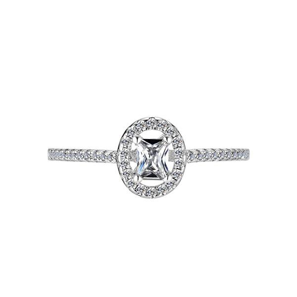 最浪漫的約定 純銀 求婚訂婚戒/2.5mm*5mm鋯石