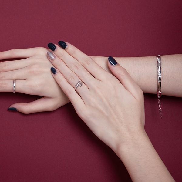 纏繞愛戀活圍戒指