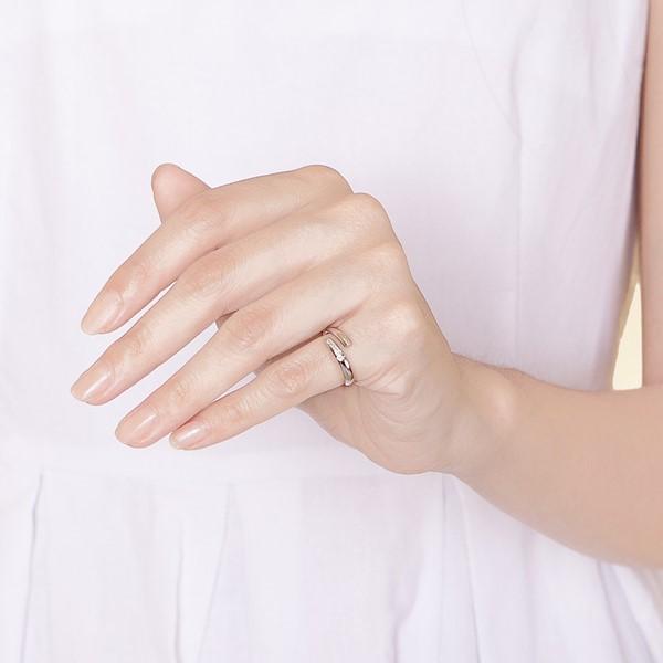溫暖和平活圍戒指