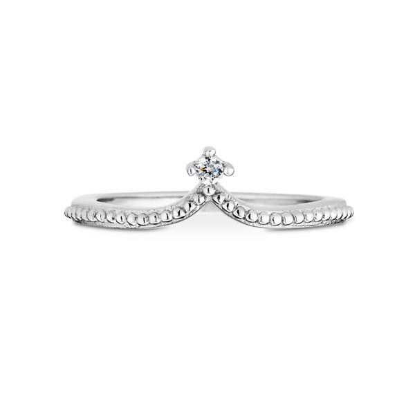 典雅皇冠戒指