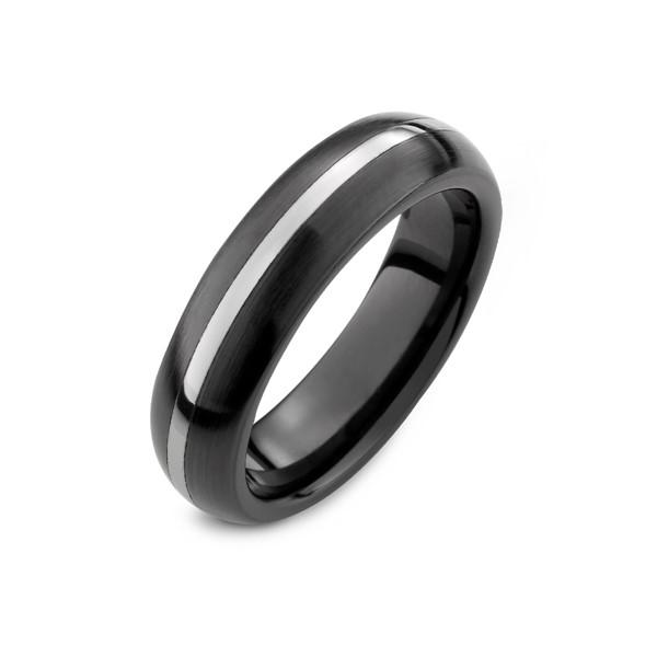 經典一線間雅痞窄版戒指