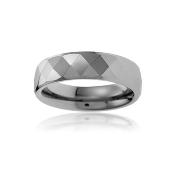 經典菱格穩重成熟戒指