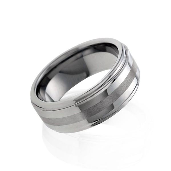 質感霧面環設計戒指