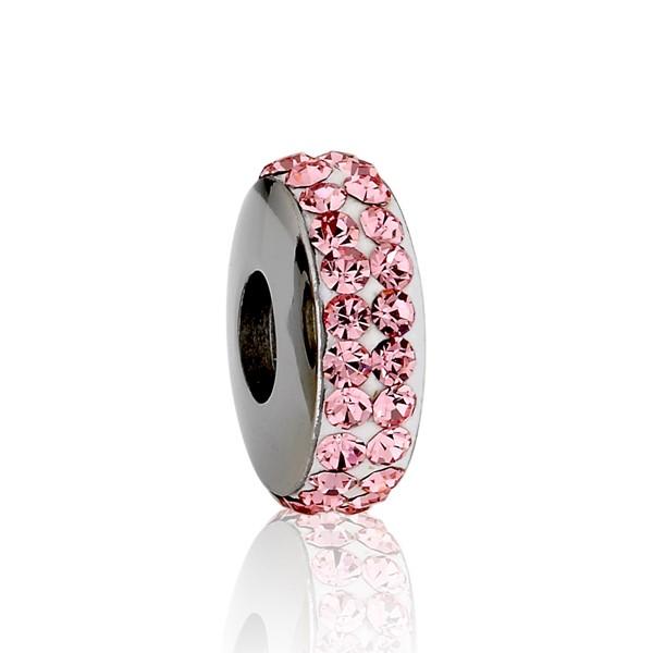 粉紅鑽造型墜飾