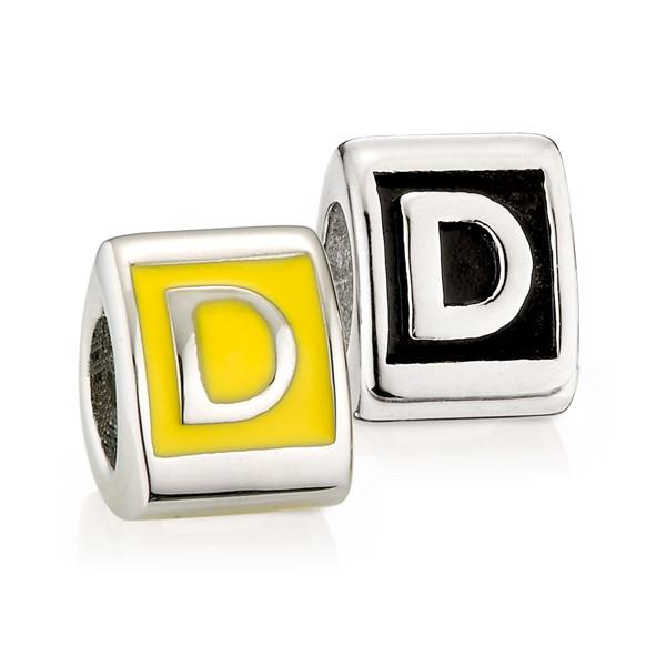 造型墜飾字母系列-D
