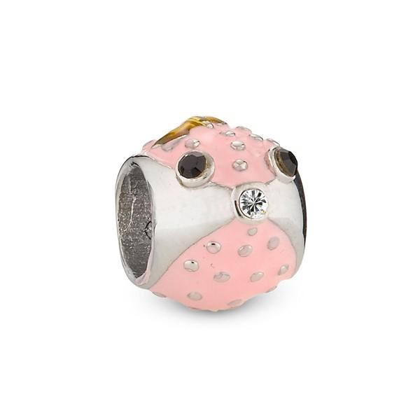粉紅星球造型墜飾