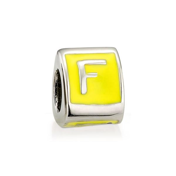 造型墜飾字母系列-F