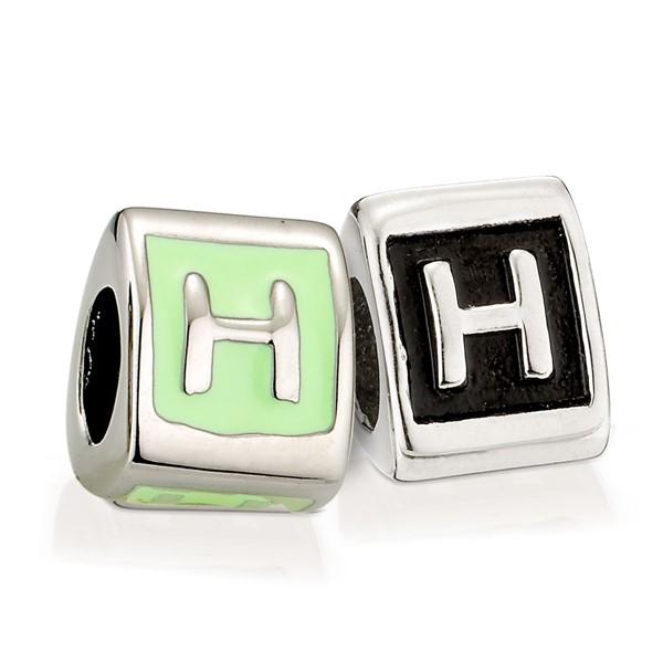造型墜飾字母系列-H