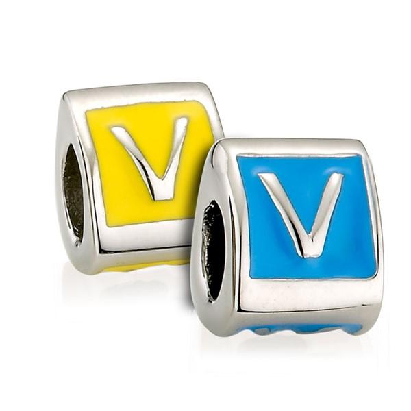 造型墜飾字母系列-V