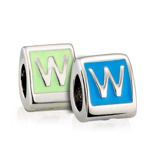 造型墜飾字母系列-W