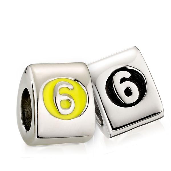 造型墜飾數字系列-6