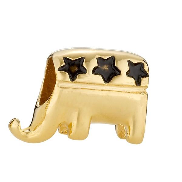 星星大象造型墜飾