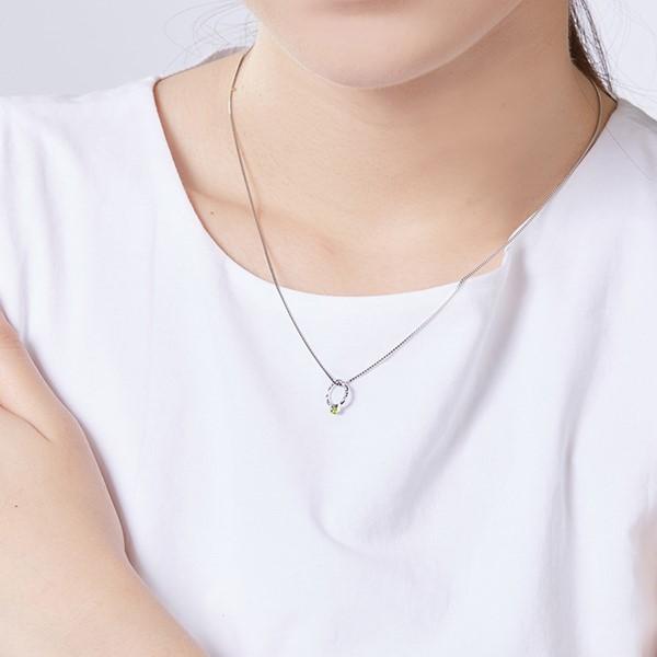 氣質小戒指簡約項鍊