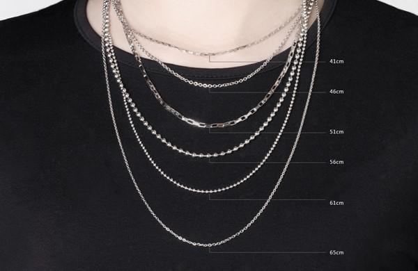 西德鋼珍珠鍊|0.2cm