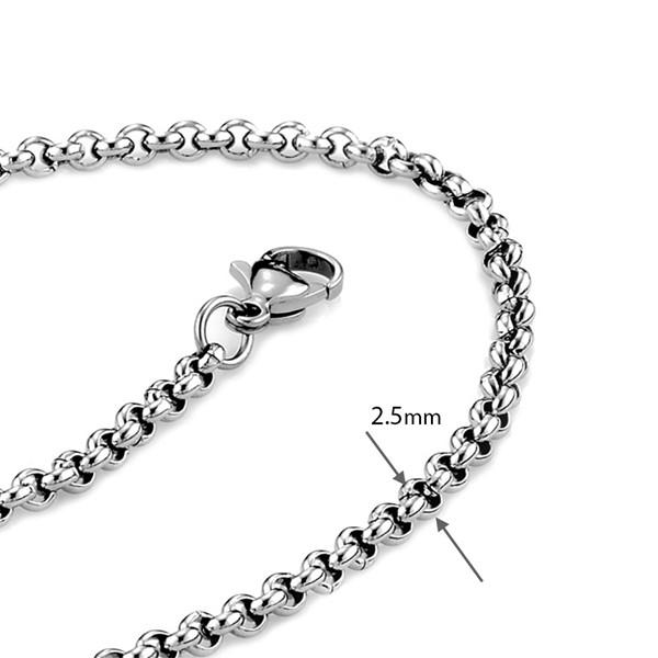 西德鋼珍珠鍊|0.25cm