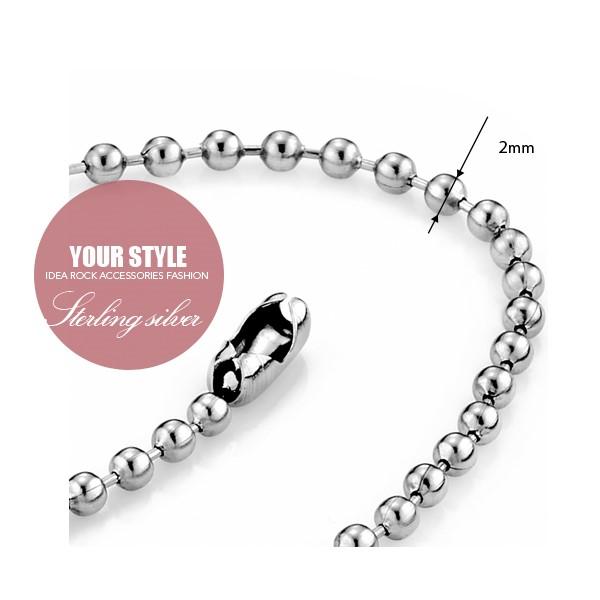西德鋼珠鍊|0.2cm