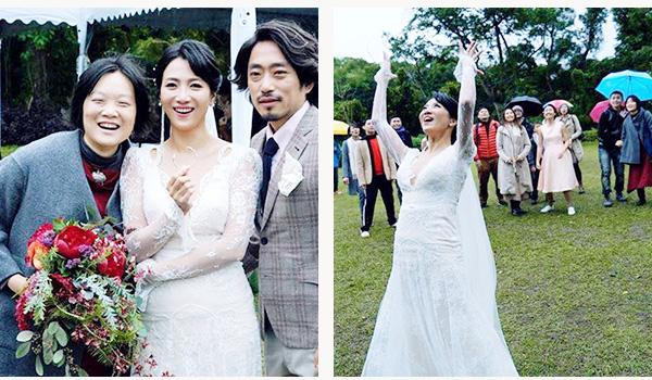 麗雯。徐徐姊妹婚禮