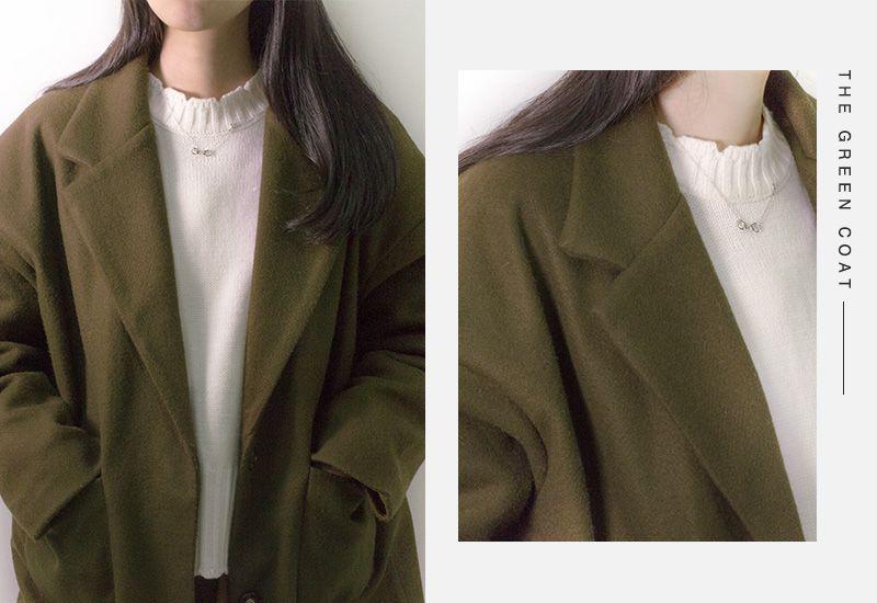 聖誕綠色大衣